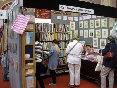 Books at the Knitting and Stitching Show
